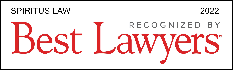 Spiritus Law Best Lawyers 2022